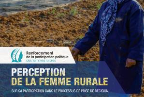 Etude: Perception de la femme rurale sur sa participation dans le processus de prise de décision