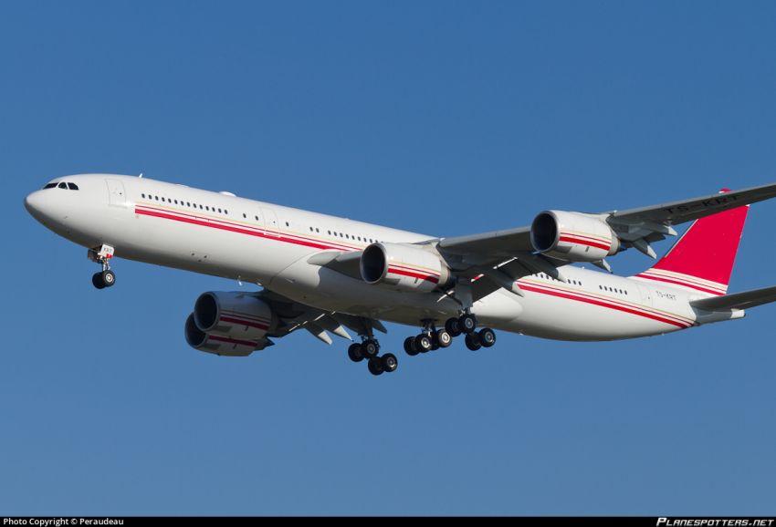 طائرة بن علي الرئاسية Airbus A340-500